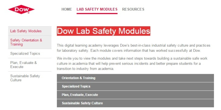 dow safety modules