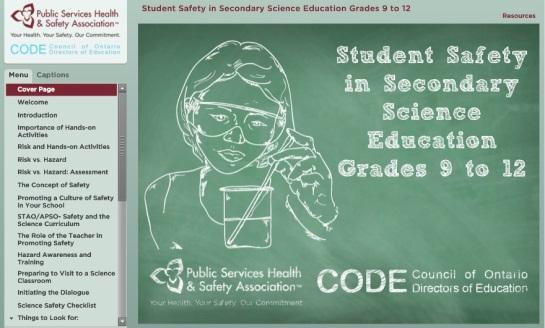 pshsa safety 9-12