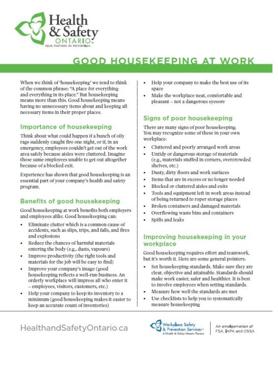 good housekeeping page 1