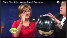 Static Electricity – Van de GraaffGenerator