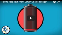 How to Keep Your Phone Battery ChargedLonger
