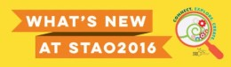 What's New at STAO2016