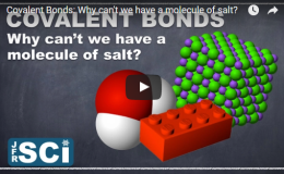 Covalent Bonds: Why can't we have a molecule ofsalt?