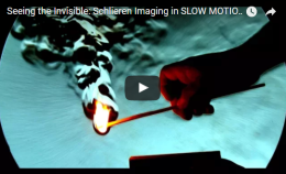 Seeing the Invisible: Schlieren Imaging in SLOW MOTION -Veritasium