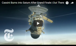 Cassini Burns into Saturn After Grand Finale   Friday Sept15