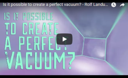 Is it possible to create a perfect vacuum? – TED Ed -Rolf Landua and AnaisRassat