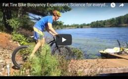 Fat Tire Bike Buoyancy Experiment byOtto