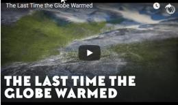 The Last Time the GlobeWarmed
