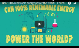 Can 100% renewable energy power the world? – TEDEd