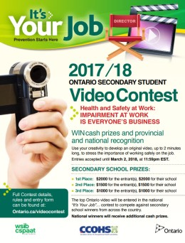 Health and Safety VideoContest