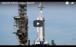 SpaceX's Falcon Heavy Rocket Launch   CBCNews