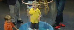 Giant Bubble Experiment | Science Experiments | Steve SpanglerScience