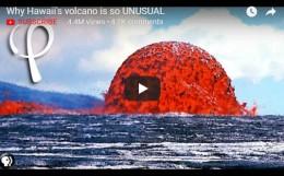 Why Hawaii's volcano is soUNUSUAL