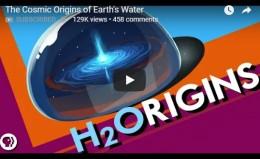 The Cosmic Origins of Earth'sWater