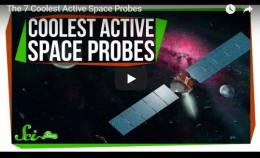 The 7 Coolest Active SpaceProbes