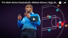 The Math Behind Basketball's Wildest Moves | Rajiv Maheswaran | TEDTalks