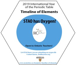 University of Waterloo Timeline of Elements Update