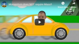 Momentum does NOT require Mass!! –YouTube