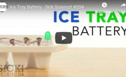 Ice-Tray Battery | Experiments | Steve SpanglerScience
