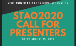 Call for Presenters for STAO2020