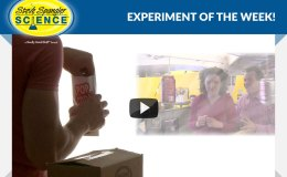 🔍 Experiment of The Week – Homemade Projector by Steve Spangler