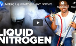 Making Liquid Nitrogen From Scratch! –Veritasium