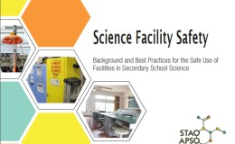 Science Facility Safety – a new Safety Resource fromSTAO