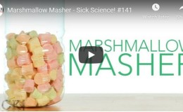 Marshmallow Masher – Sick Science!