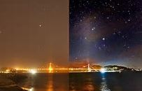 Light pollution